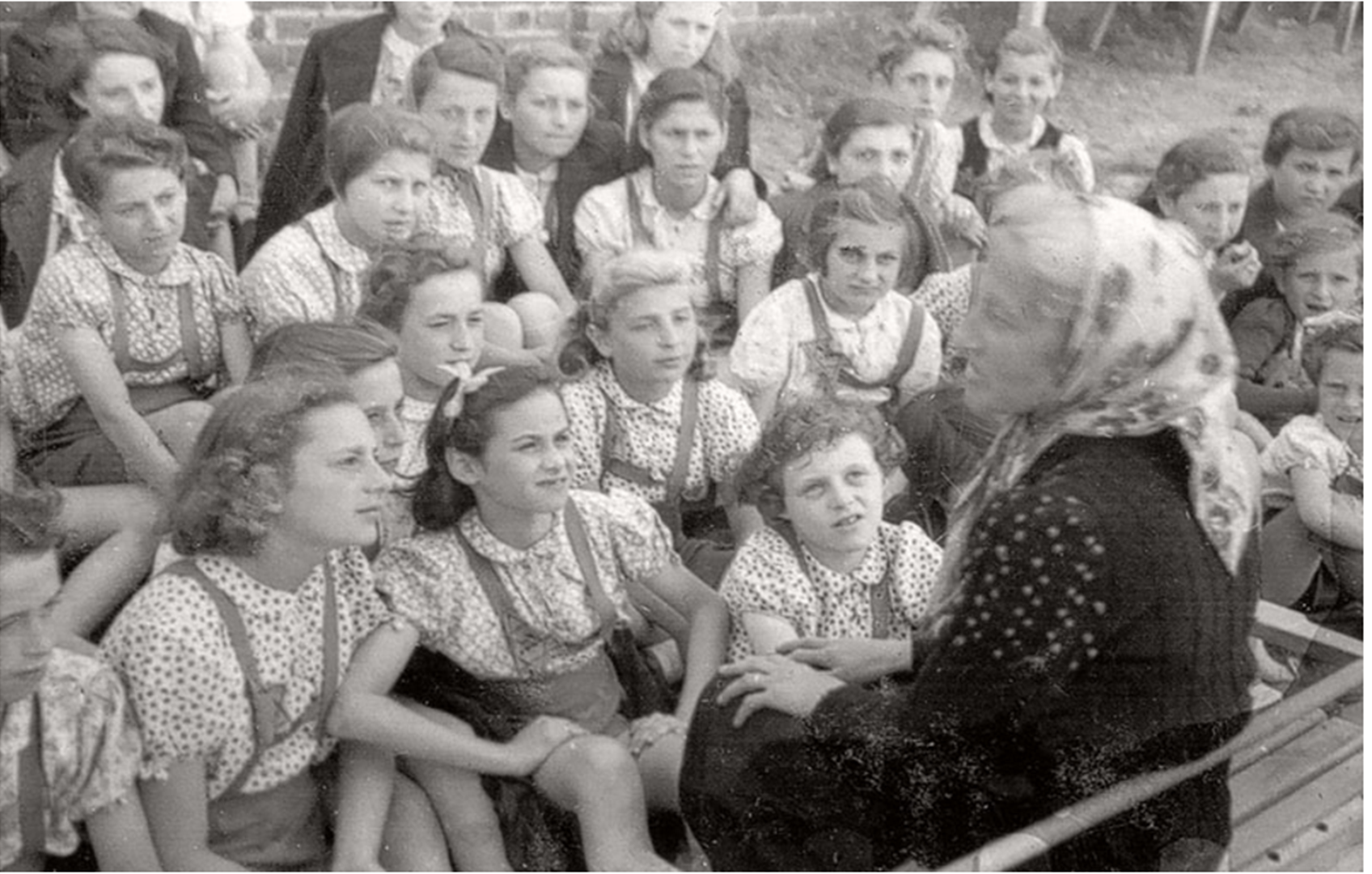 High School in the Lodz Ghetto